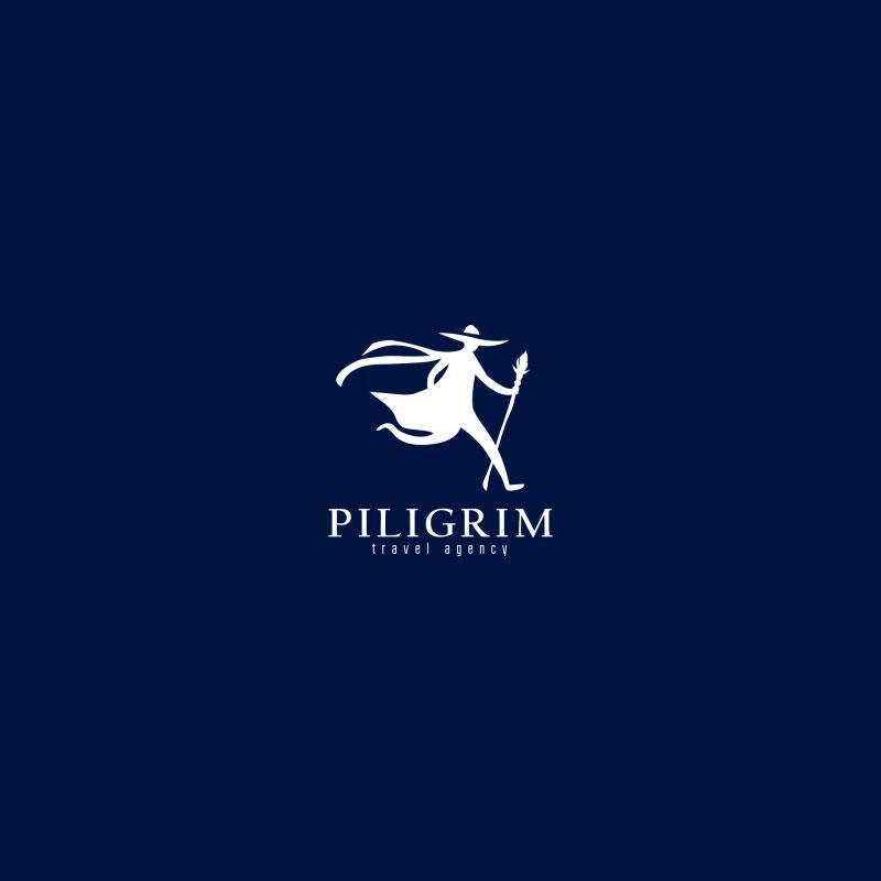 piligrim travel agency logo